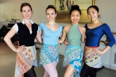 Skirts Dancers Group of 4